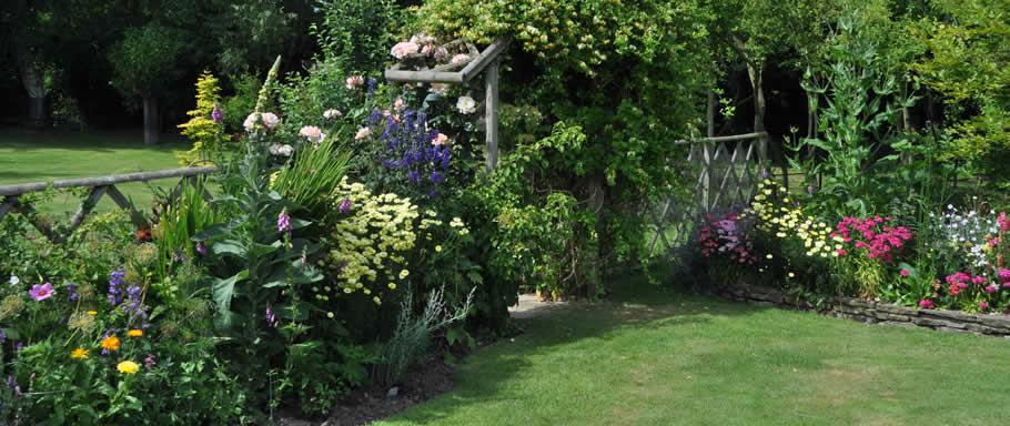 Milton Open Gardens pond